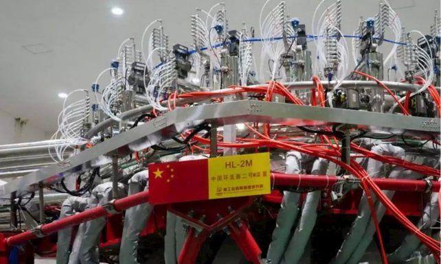 El reactor chino de fusión que logró un hito este viernes.