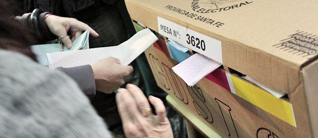 El sistema electoral vuelve a ser motivo de una fuerte polémica en la provincia de Santa Fe. (foto: Héctor Rio)