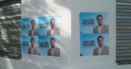 Carta abierta de un ciudadano común al candidato Walter Eiguren
