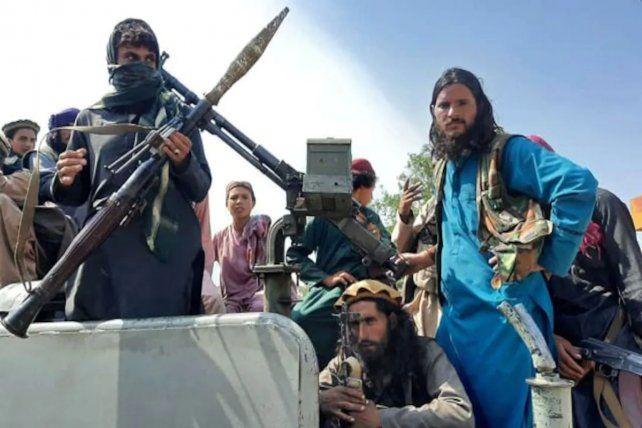 Milicianos de la Red Haqqani, aliada al Talibán, pero que mantiene nexos operativos con el Estado Islámico en Afganistán o ISIS-K.