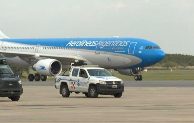 Coronavirus: aterrizó el avión de Aerolíneas Argentinas con 500 mil dosis de la vacuna Sputnik V