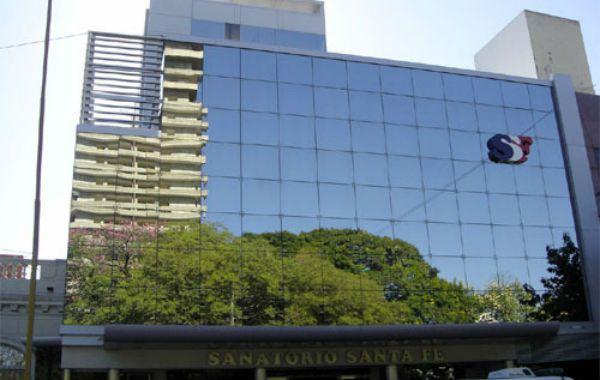 El edificio donde fue ablacionado el paciente de 58 años.