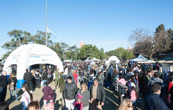25 mil personas visitaron la muestra del Ministerio de Defensa en Rosario