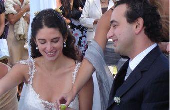 Pablo Javkin se casó y el arco político rosarino lo acompañó en su gran fiesta