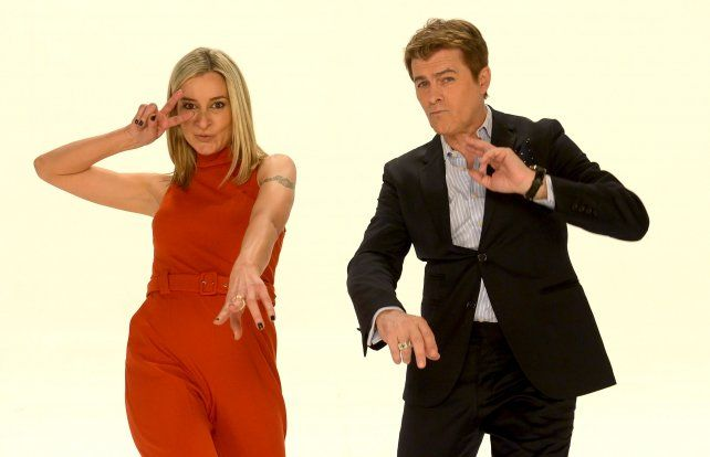 Dupla en la TV. Mariela Fernández y Gabriel Corrado debutan con Mañanas Públicas en la pantalla estatal.