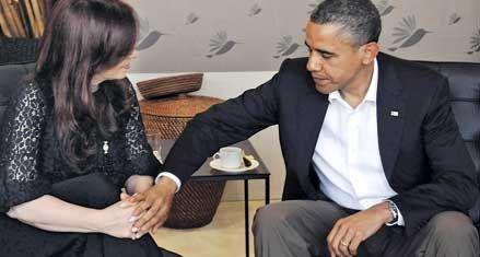 Obama le dijo a Cristina que EEUU quiere seguir siendo buen amigo