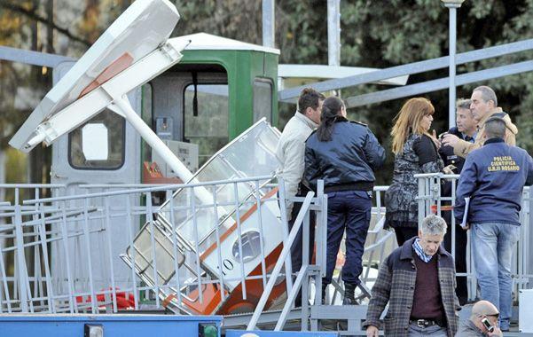 Drama en el parque. El predio se llenó de ambulancias