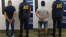 Uno de los imputados de amenazar una comerciante de la zona noroeste de Rosario.