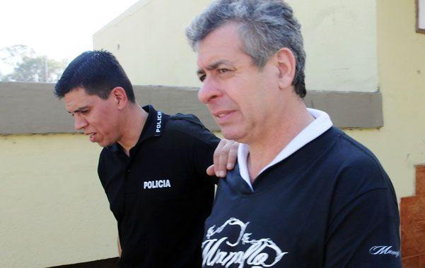 En prisión. Delfín Zacarías dio una nota a este diario estando preso y se desligó de las acusaciones que el juez le hace.