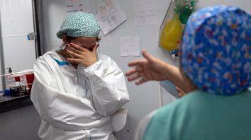 El personal de salud está muy agotado y tiene alta sensación de frustración, dijo el coordinador de la Subregión San Martín del Ministerio de Salud, Diego Brigalia.