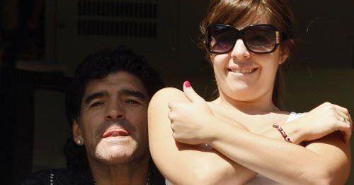 Se casa Dalma y Diego Maradona fue el encargado de hacer el anuncio