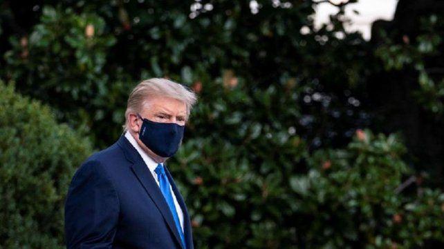 El presidente Trump se va de alta con un consejo: Que no los asuste el Covid