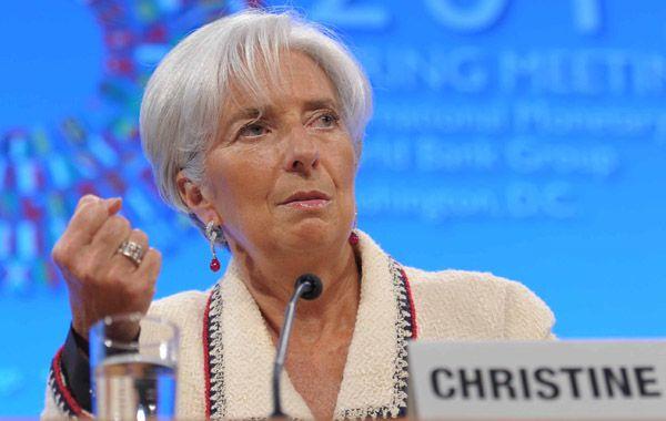 La titular del organismo monetario internacional celebró las medidas económicas adoptadas por el gobierno nacional.