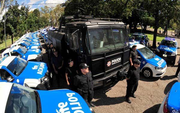 Más control. Esta tecnología forma parte del nuevo equipamiento que está recibiendo la policía.
