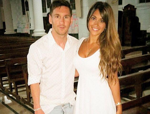 En Barcelona dan por hecho que Antonella Rocuzzo y Lio Messi están embarazados