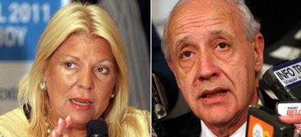 Dirigentes recuerdan apoyo de Carrió a Lavagna