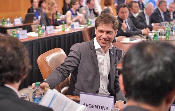 Cumbre. El ministro destacó en Washington el apoyo internacional que recibió Argentina ante el litigio.