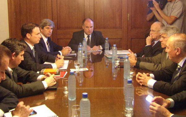 Los senadores provinciales se comprometieron ayer ante el titular del Ministerio Público de la Acusación.