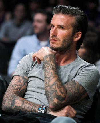 David Beckham se quiere tatuar el pene