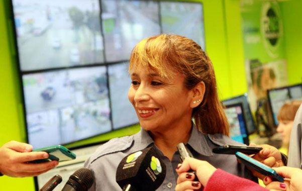"""La cabo de la policía de Río Negro fue la protagonista principal. """"Primero tuve que calmarme""""."""