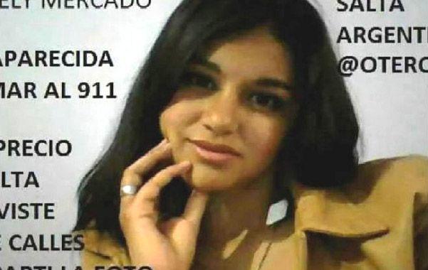 Araceli Mercado. La joven habría sido víctima de trata de personas.