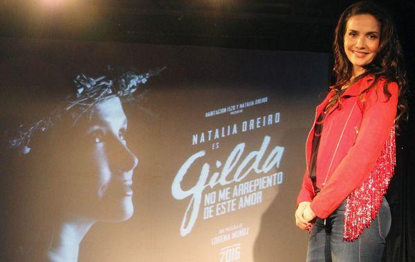 La uruguaya Natalia Oreiro se pondrá en la piel de Gilda