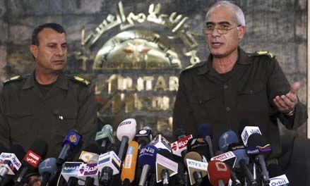 Los militares egipcios anunciaron que habrá elecciones en septiembre