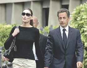 Sarkozy abandonó el hospital tras sufrir un leve desmayo