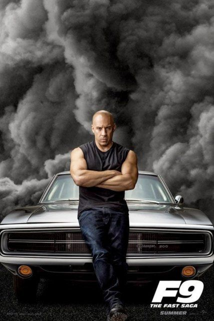 Toretto. El actor Vin Diesel