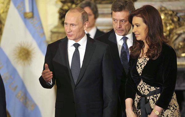Los presidentes de Rusia
