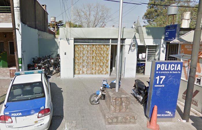La comisaría 17 intervino en el hecho registrado en Sánchez de Loria al 100.