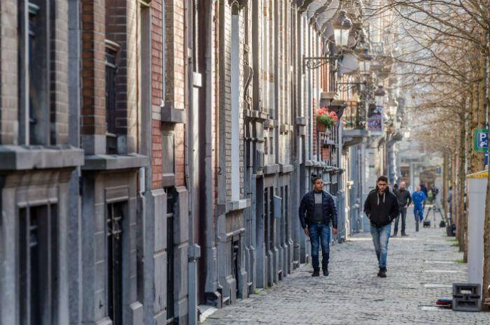 El Escondite. La calle Henri Berge en el barrio Schaerbeek de Bruselas.