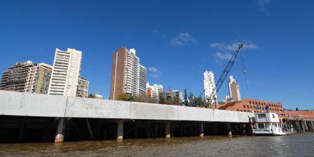 Las obras del muelle del Parque España finalizarán antes de fin de año