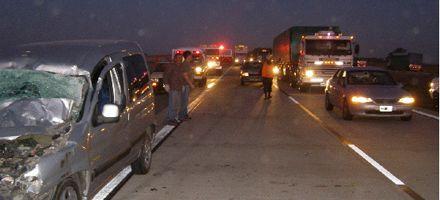 Reclaman una urgente cobertura de emergencias en la autopista