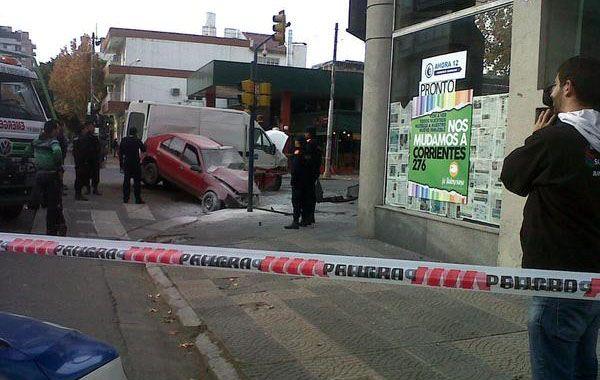 El fuerte impacto se produjo en Mendoza y Cafferata