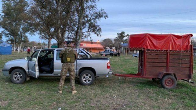 Días atrás. Almada fue detenido el viernes en una jineteada en Andino.