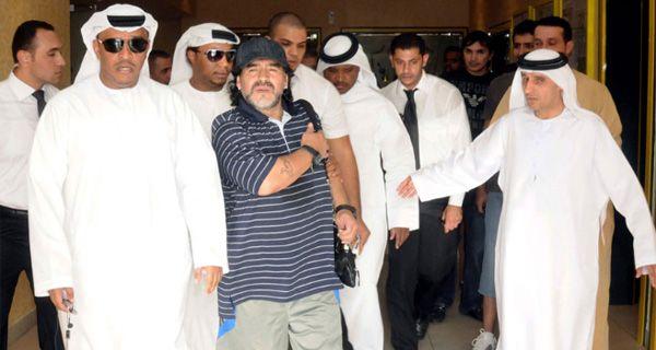 El contrato de Maradona con el Al Wasl llega a los U$S 34,5 millones