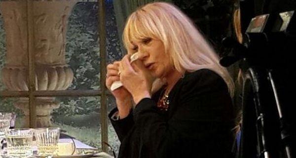 Mimí Pons dolida por la ausencia de Gasalla en el velatorio de Norma