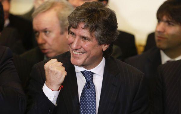 Boudou representará a la presidenta en la ceremonia de jura del colombiano Juan Manuel Santos.