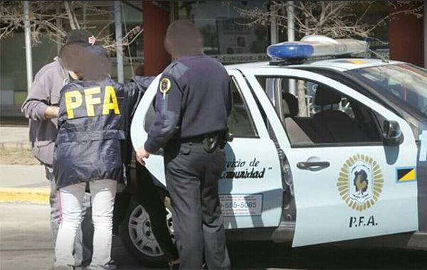La Policía detuvo a los acusados en la Terminal de Omnibus de Río Cuarto.
