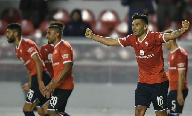 Romero marcó uno de los goles del Rojo.