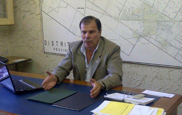 Por el diario. Marinsaldi dijo que se enteró a través de La Capital.