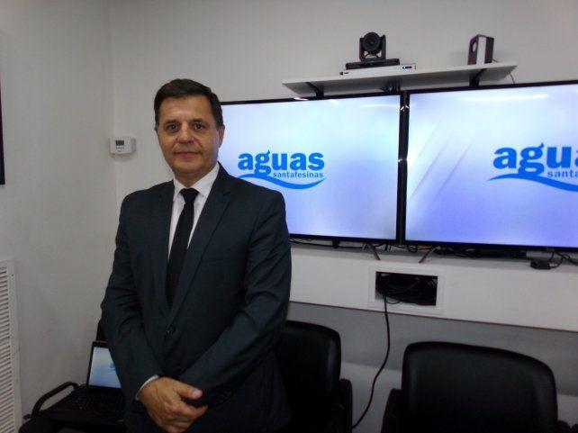 El presidente de Aguas