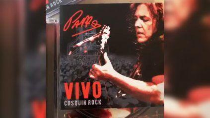 Sale a la venta el disco de Pappo en vivo en el Cosquín Rock 2005