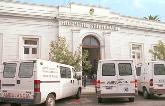 El detenido fue operado en el Hospital San Martín de Paraná y en 48 o 72 hora podría regresar a prisión.