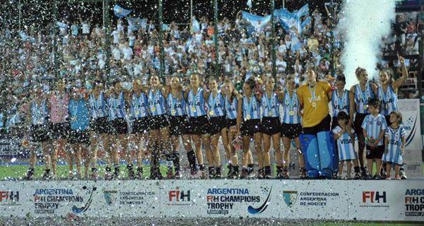 Las Leonas siempre se subieron al podio en Rosario