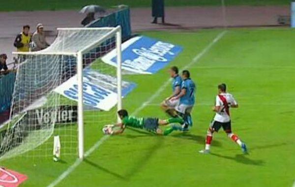 Scime reconoció el error de Echenique en convalidar un gol que no fue.