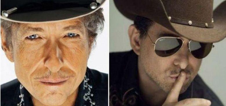 Andrés Calamaro, en su salsa: compartirá escenario con el legendario Bob Dylan