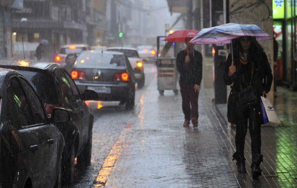 Las lluvias se extenderán desde esta noche y hasta el lunes. (Foto: Virginia Benedetto)