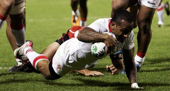 Llegó el primer triunfo: Tonga venció a Japón 31 a 18